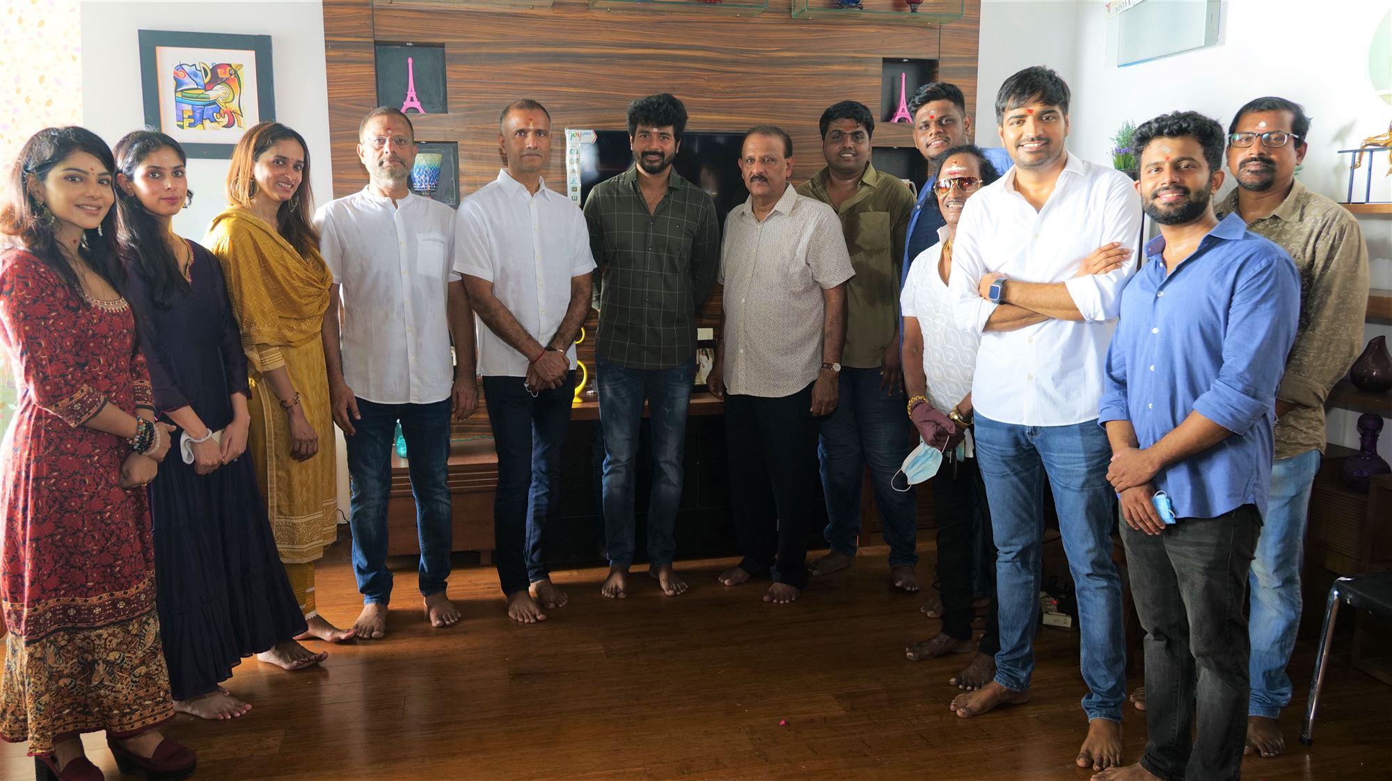 Sathish, Pavithra Lakshmi @ AGS Entertainment Production No 21 new film