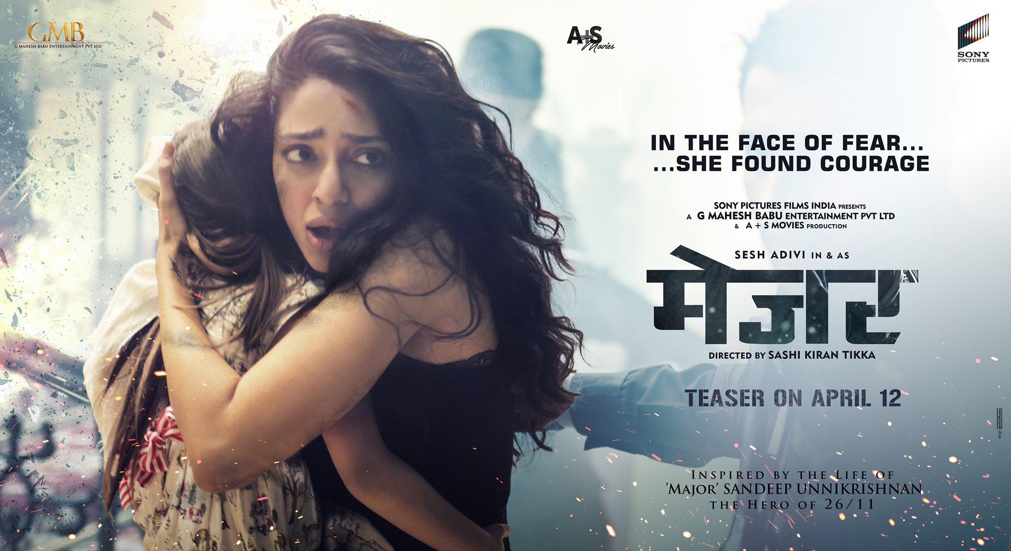 Sobhita Dhulipala Major Movie HD Posters