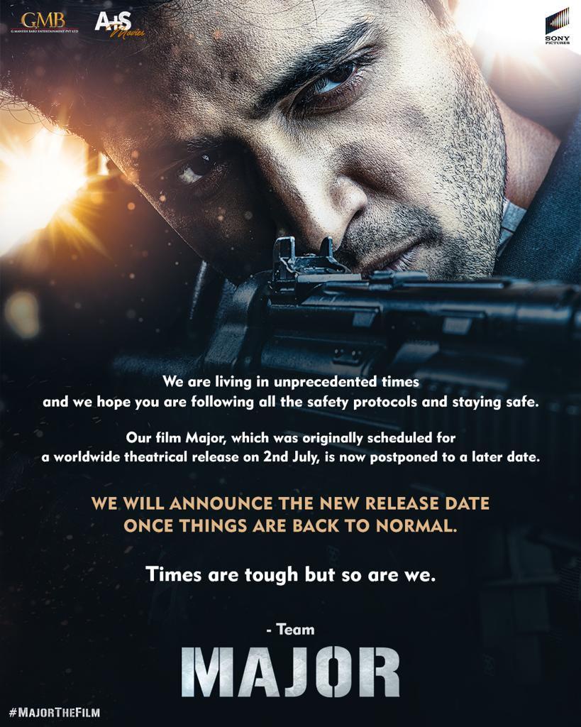 Actor Adivi Sesh Major Movie Theatrical Release Postponed