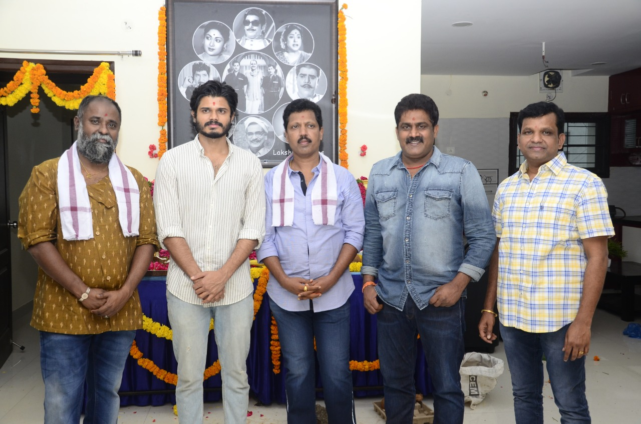 Director KV Guhan Next With Anand Devarakonda As Main Lead Produced By Venkat Talari Titled Highway Launched With Pooja Ceremony