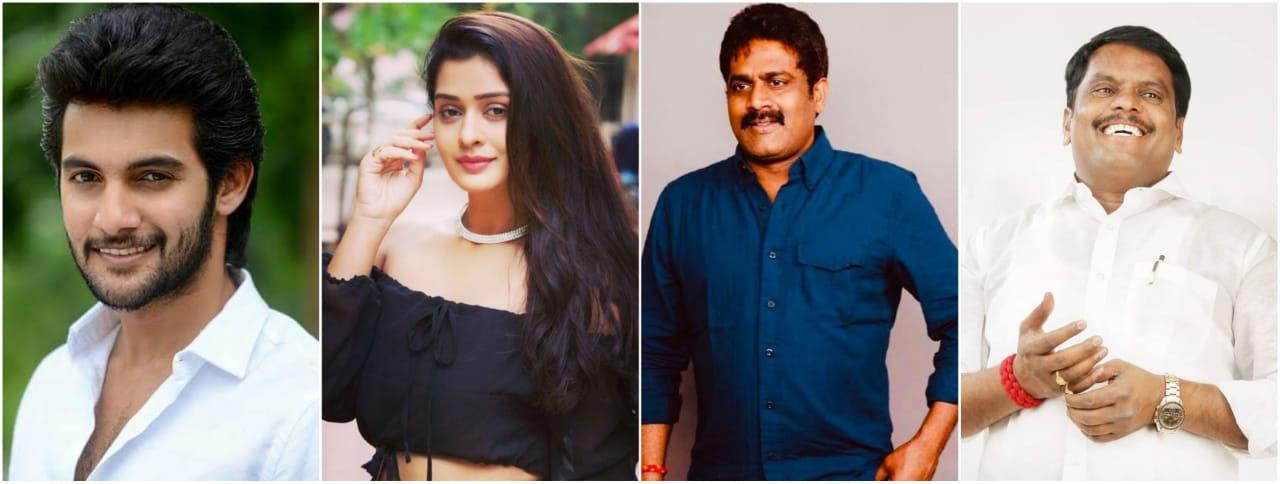 Aadi & Payal Rajput pairs in Kirathaka Movie