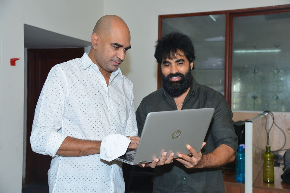 Director Krish Launched Trailer Of Abhinav Sardhar and Ram Karthik Starrer Sci-Fi Action Drama Peanut Diamond