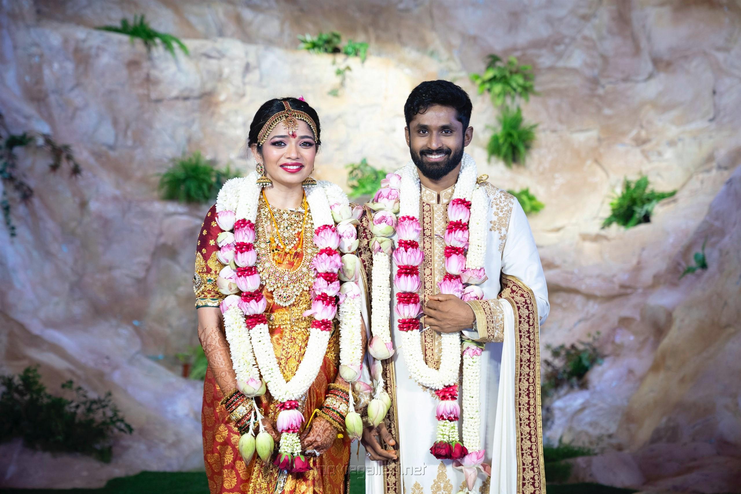 Director Shankar daughter Aishwarya Rohit Damodharan Marriage Photos HD
