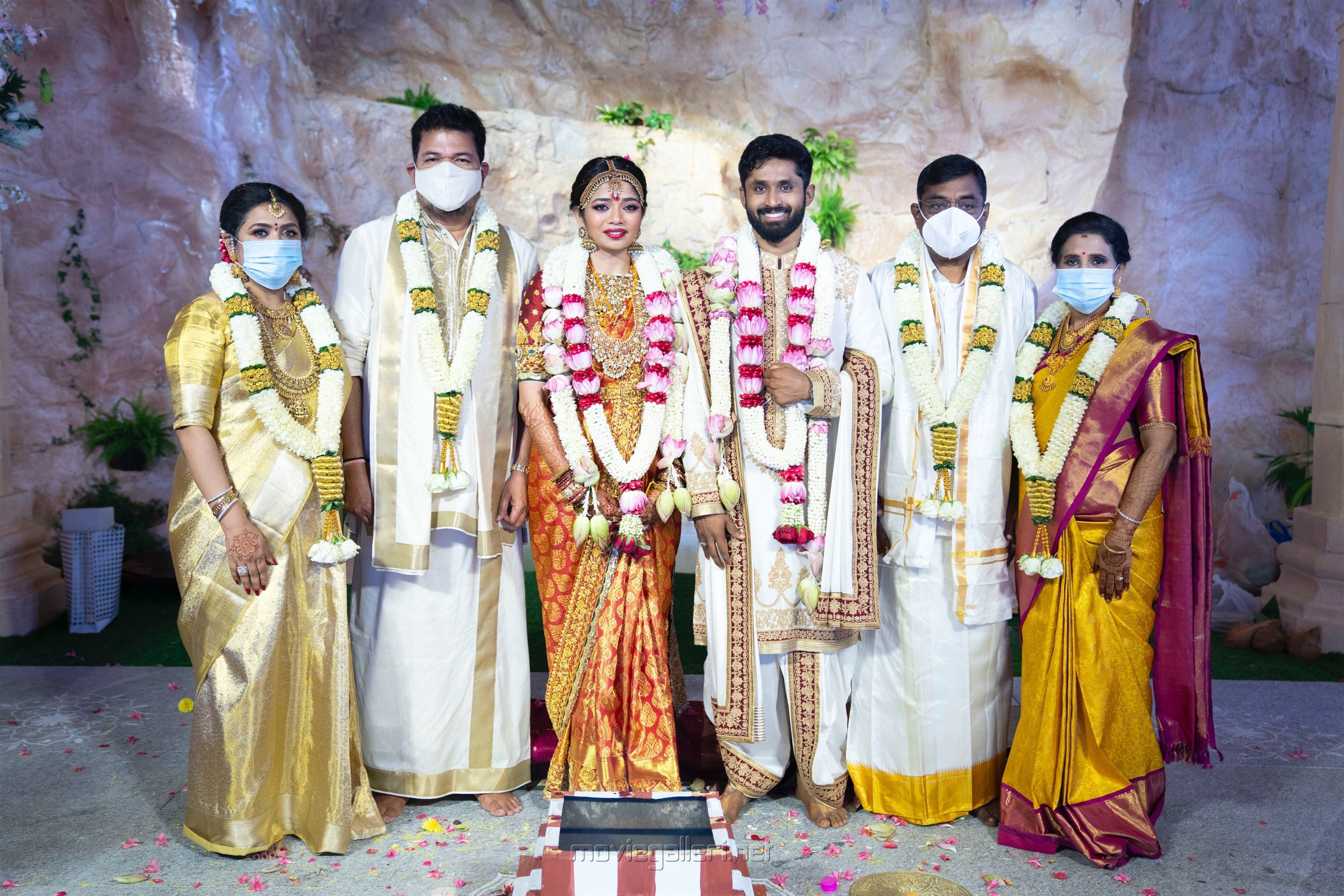 Director Shankar daughter Aishwarya Wedding Photos HD