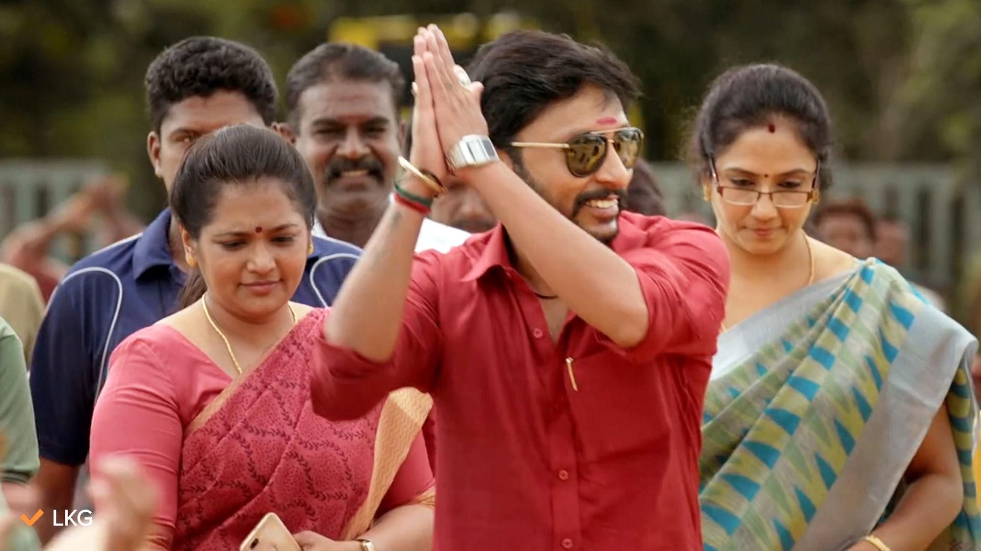Hero RJ Balaji LKG Telugu Dubbing film on aha ott from June 25