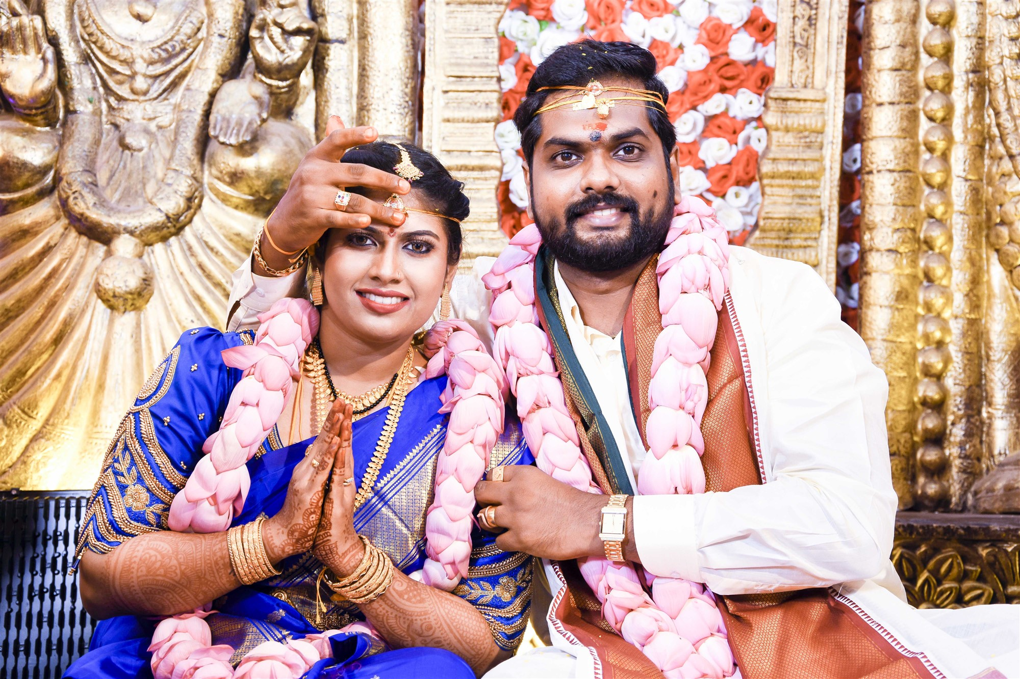 Vini Shamu Karthik Yogi Marriage Images HD