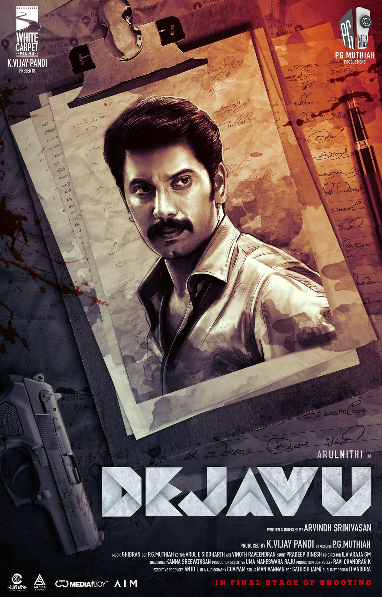 Actor Arulnithi next is Mystery Thriller – Titled as DEJAVU