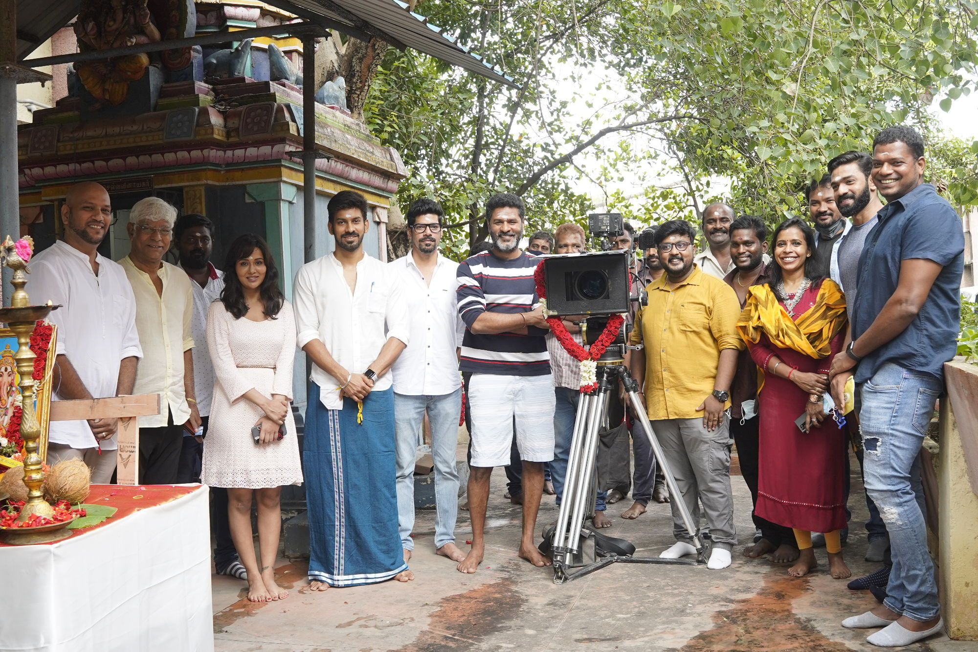 Actor Prabhu Deva Director Santhosh P Jayakumar untitled film to go on floors