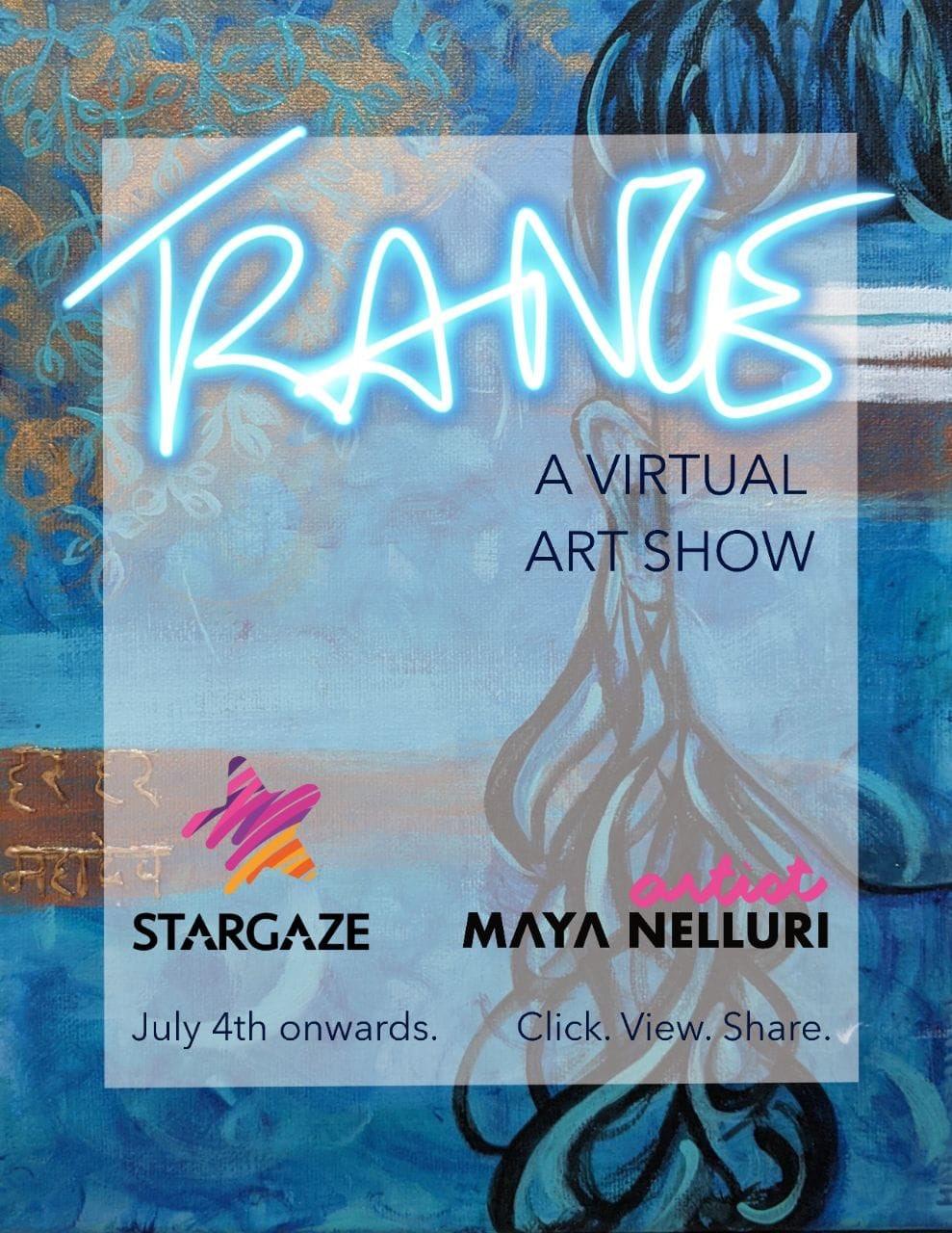 Actor VISHAL launches TRANCE Virtual Art Show