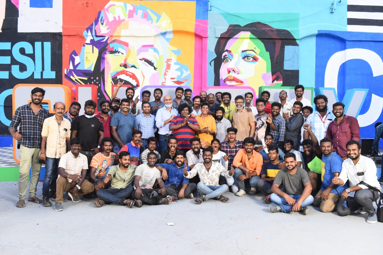 Actress Kajal Aggarwal Ghosty movie shooting wraps up with promo song