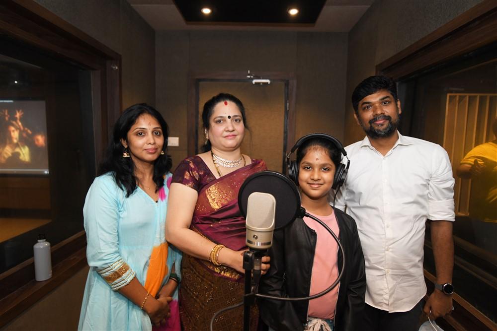 Adhira SureshKumar @ Music Director Sakthi Balaji Soundable New Recording Studio Launch Stills