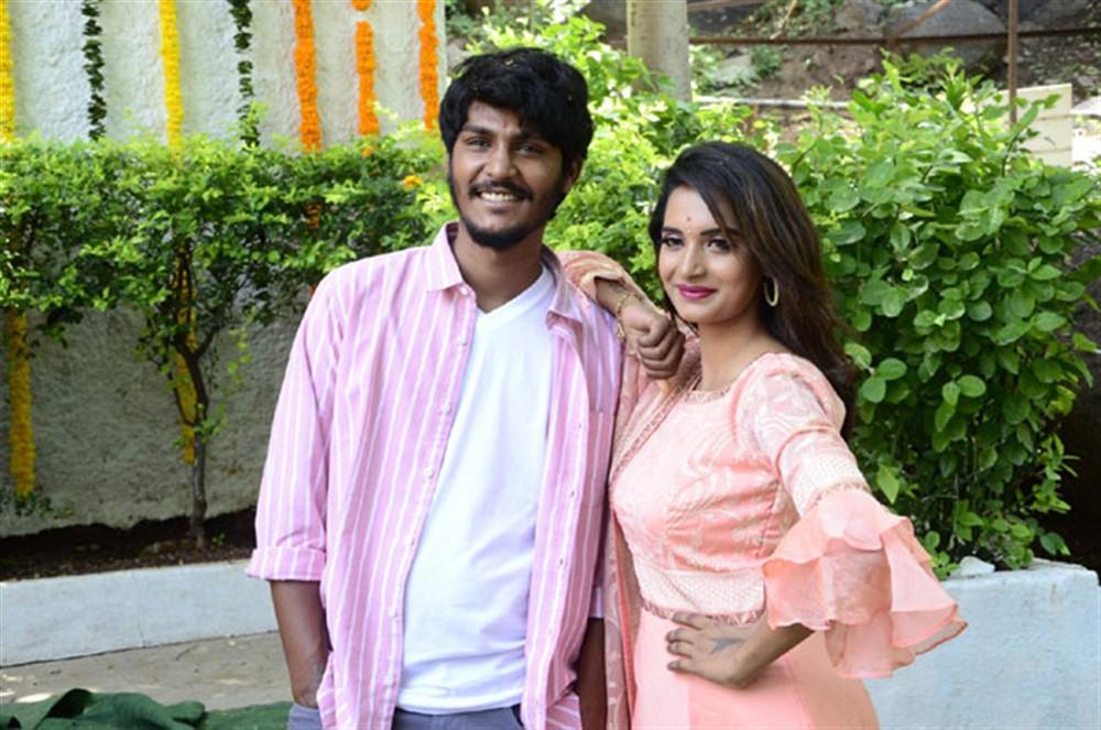 Ajay Kumar, Sri Lakshmi @ Alludu Bangaram Movie Opening Stills