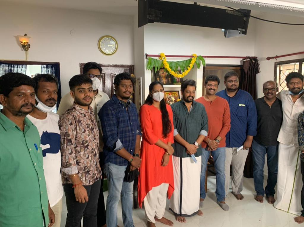 All in Pictures T Vijaya Raghavendra Production No6 VidharthLakshmi Priyaa Chandramouli starrer new movie launched