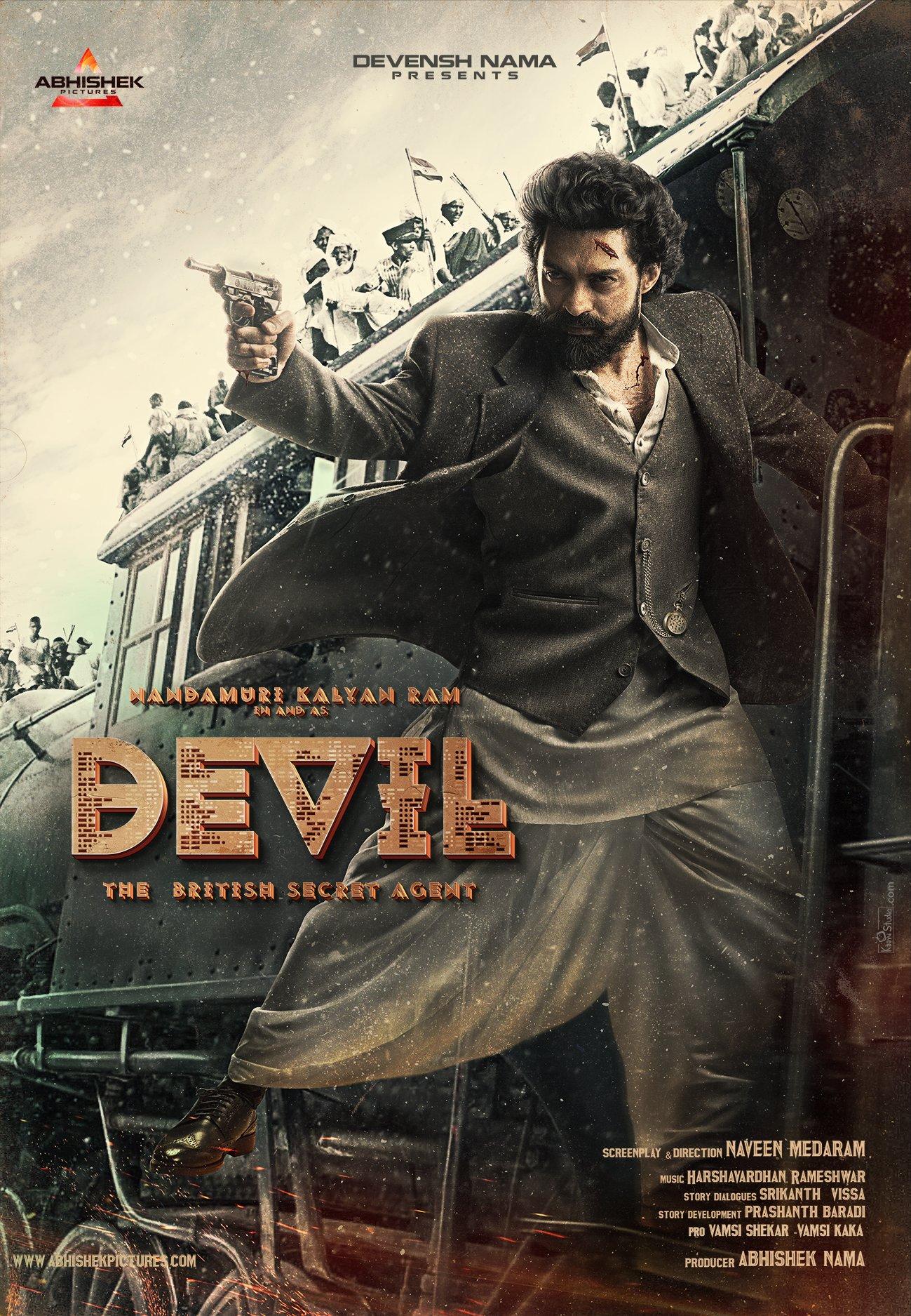 Hero Nandamuri Kalyan Ram Devil Movie First Look HD Poster