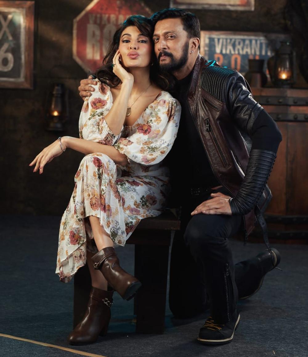 Jacqueline Fernandez enters the world of Kichcha Sudeepa-starrer Vikrant Rona