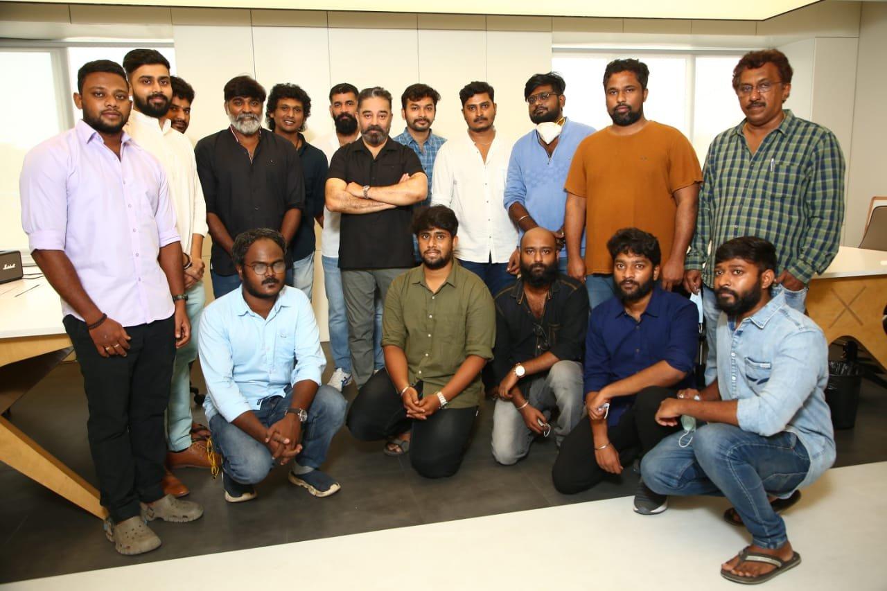 Kamal Haasan Vikram Movie Launch Stills