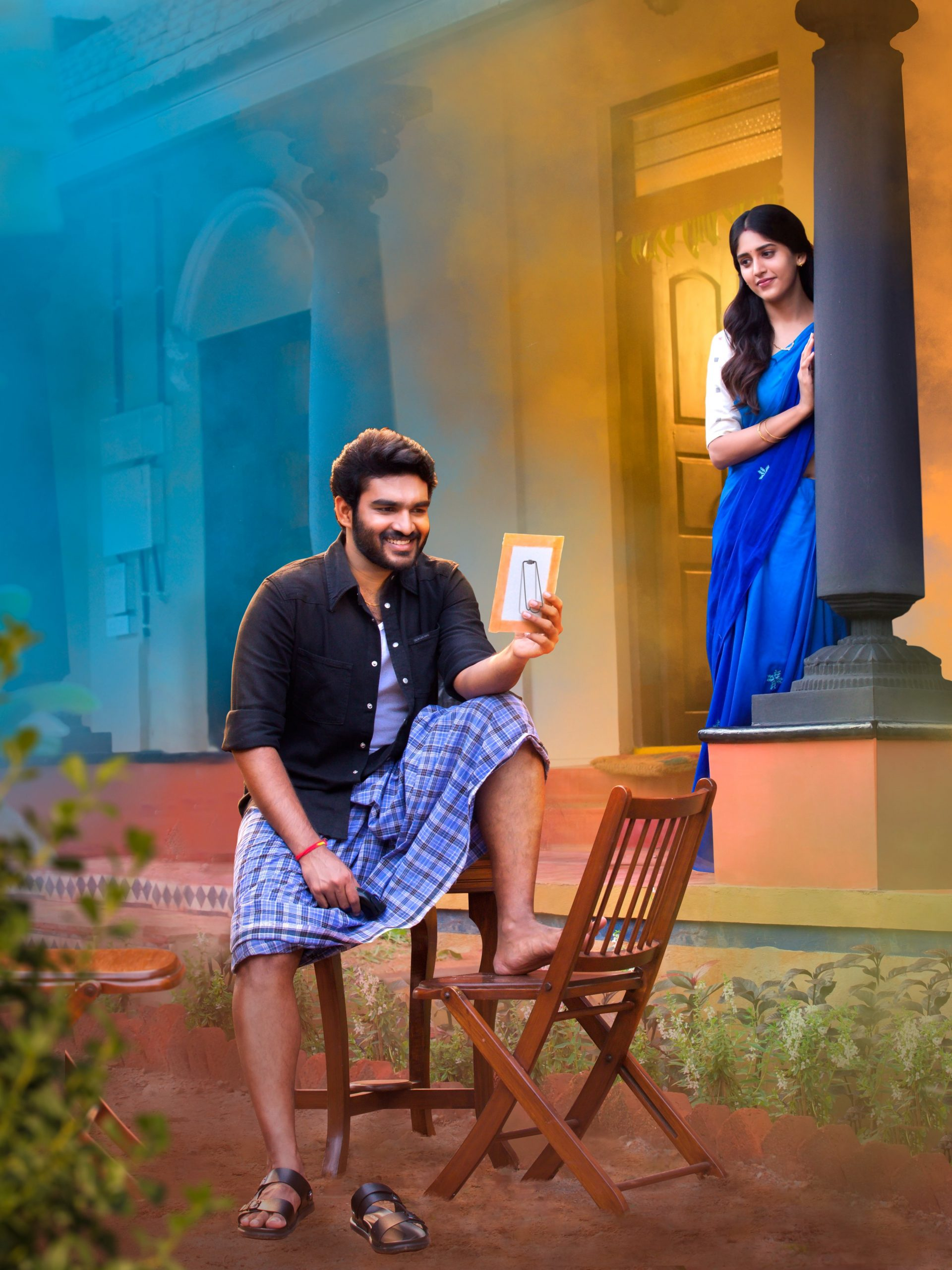 Kiran Abbavaram Chandni Chowdary Sammatame Movie HD Pic