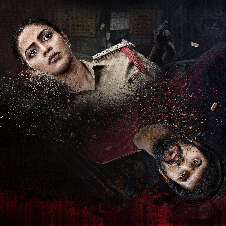 Amala Paul, Rahul Vijay, Ravi Prakash Kudi Yedamaithe sci-fi crime thriller series