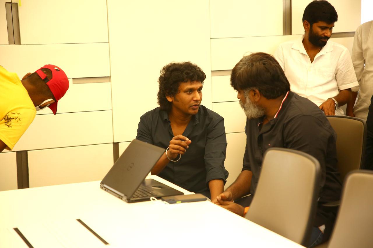 Lokesh Kanagaraj, Vijay Sethupathi @ Vikram Movie Launch Stills