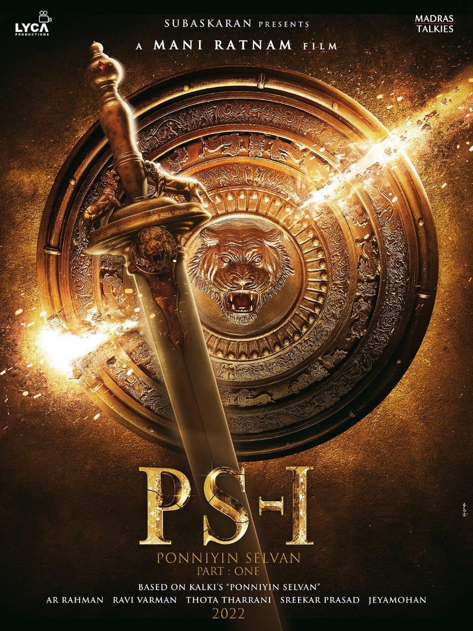 Lyca Productions Subaskaran Mani Ratnam Ponniyin Selvan-I movie release in 2022