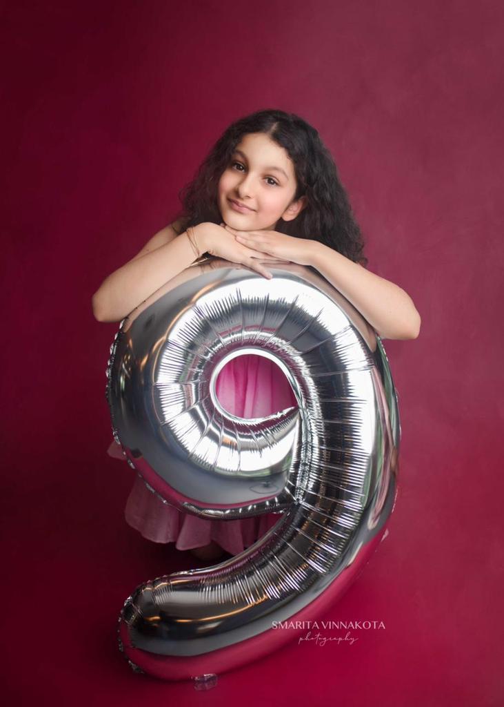 Mahesh Babu daughter Sitara Ghattamaneni 9th Birthday HD Images