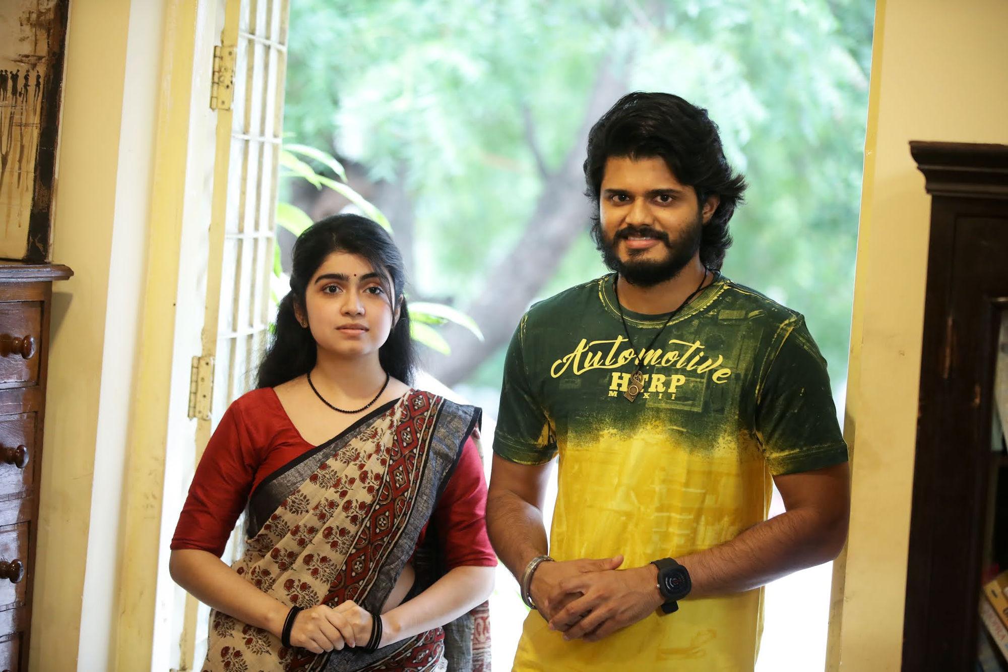 Manasa Radhakrishnan Anand Deverakonda Highway Movie HD Pics