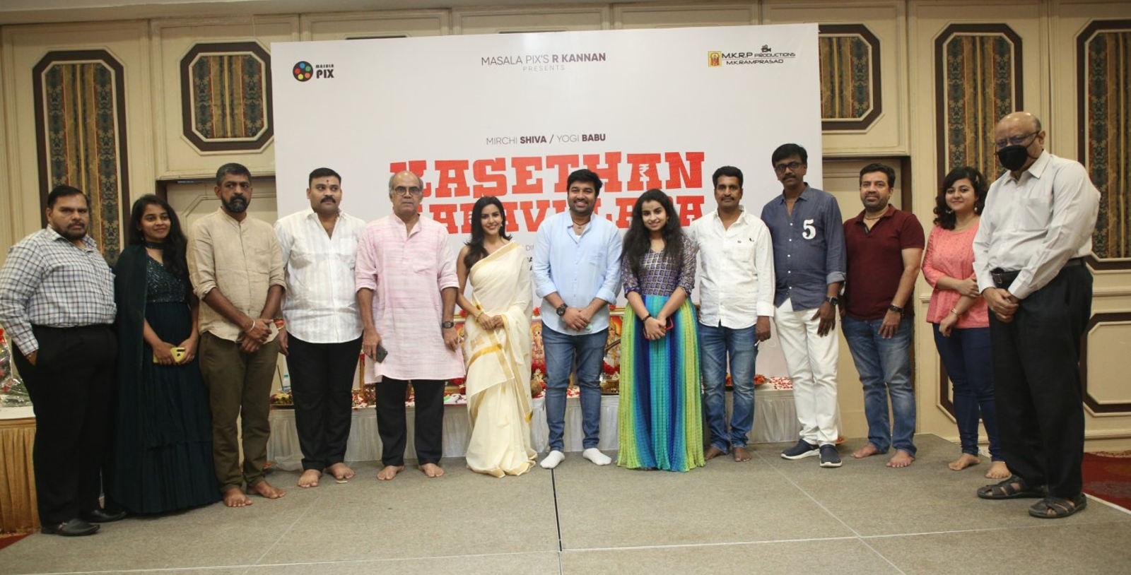 Mirchi Shiva Priya Anand Shivaangi Kasethan Kadavulada Remake Launched