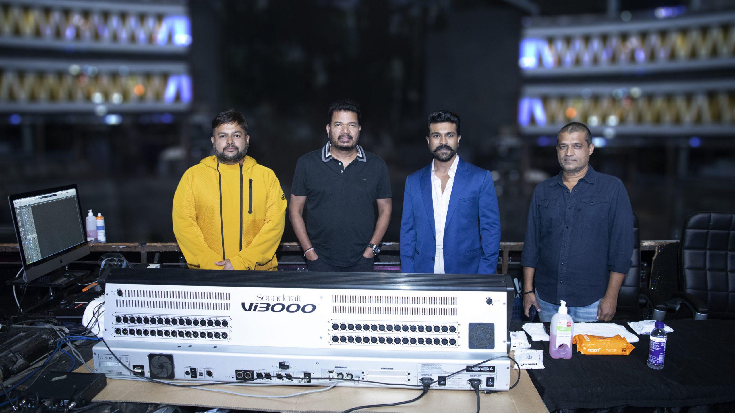 Music Director SS Thaman on board for Mega Power Star Ram Charan & Sensational Director Shankar's movie with Dil Raju -Shirish duo