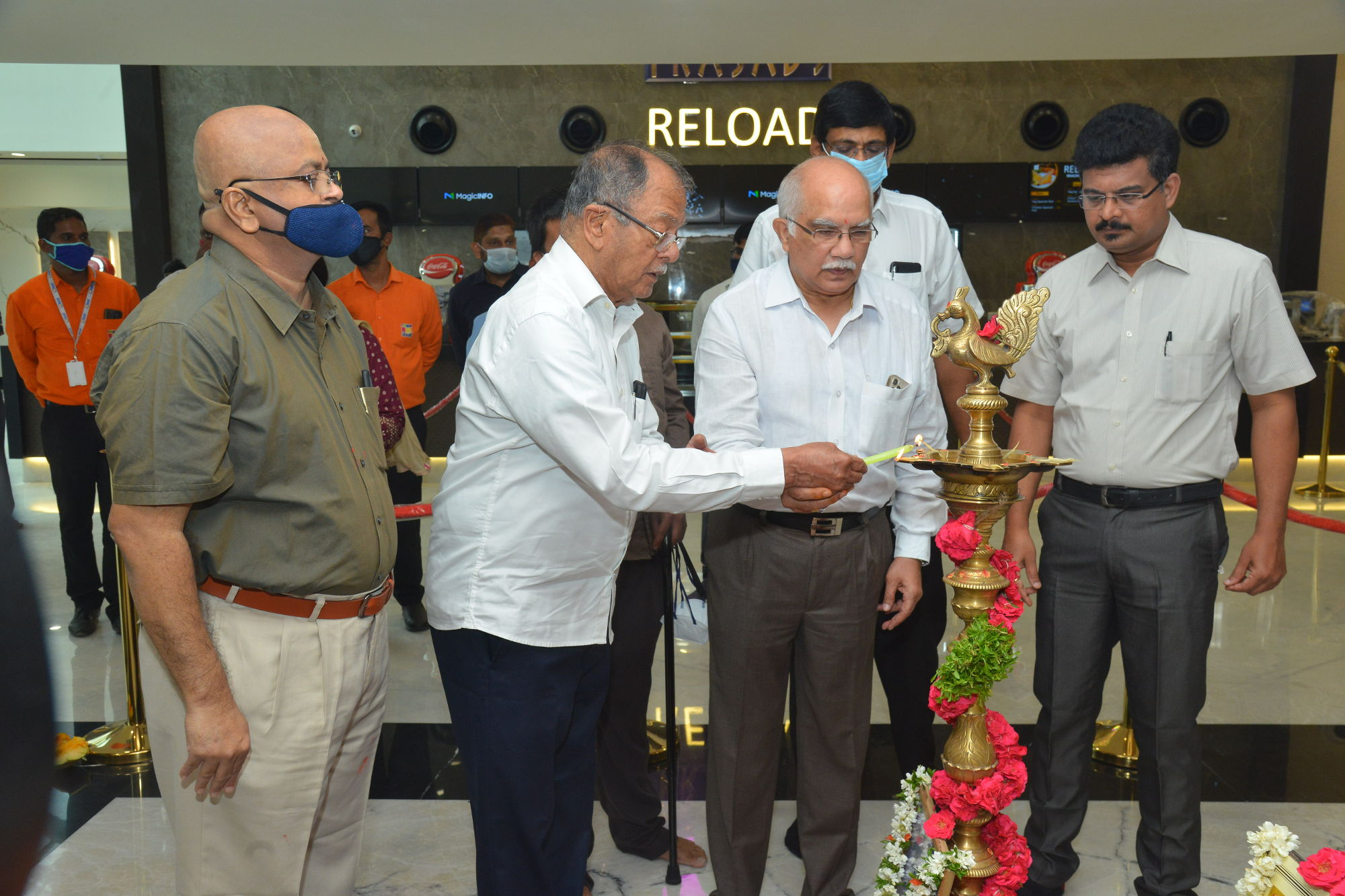 Prasad Multiplex gets a swanky modren new look in renovation