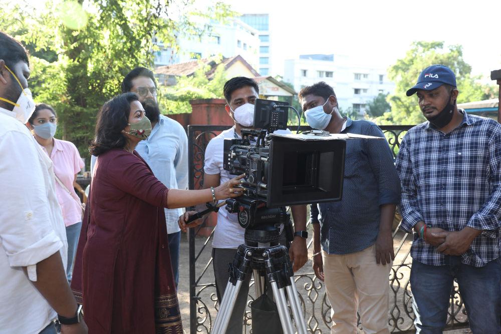 "RAADHIKA SARATHKUMAR'S RADAAN MEDIAWORKS PRESENTS SARATHKUMAR STARRER RAJESH M SELVA DIRECTORIAL OTT ORIGINALS ""IRAI"""