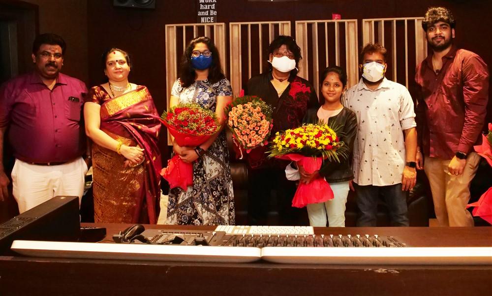 Rajhesh Vaidhya @ Music Director Sakthi Balaji Soundable New Recording Studio Launch Stills