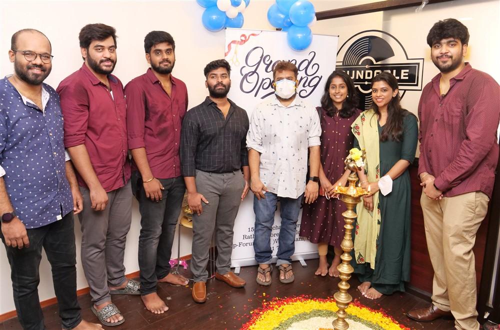 Music Director Sakthi Balaji Soundable New Recording Studio Launch Stills