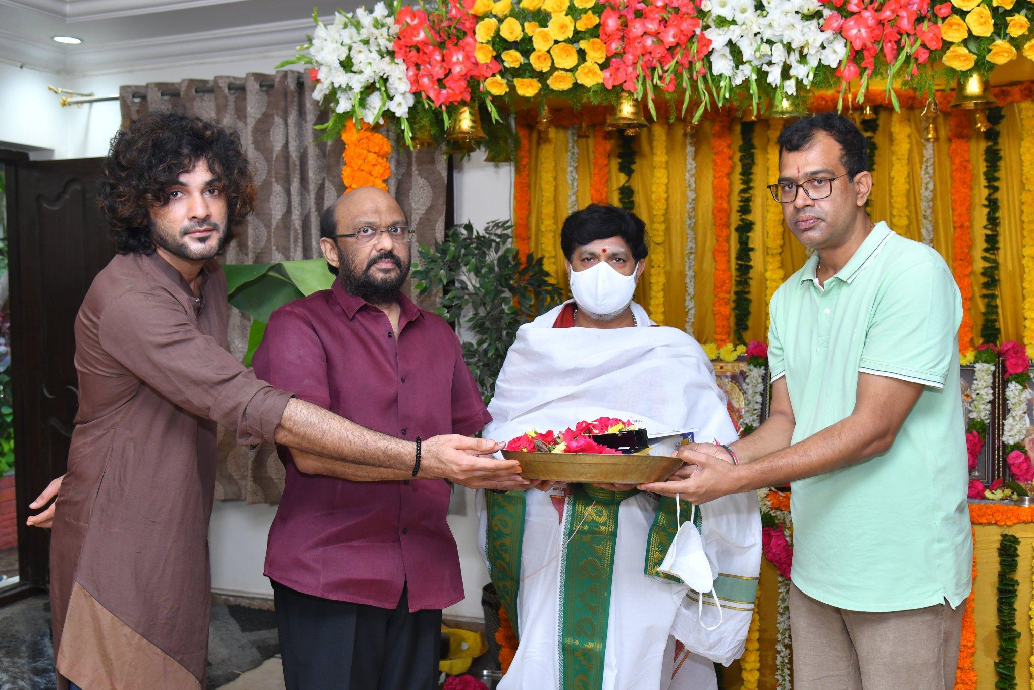Sithara Entertainments movie, Production No. 9, which goes to sets featuring Siddhu Jonnalagadda