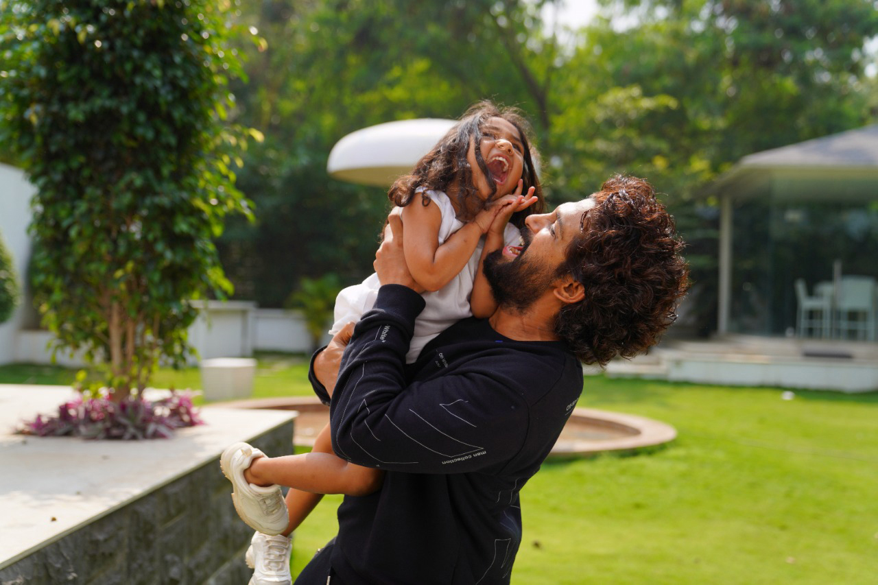 The fourth generation of the Allu family enters cinema with Allu Arha's debut in Shaakuntalam