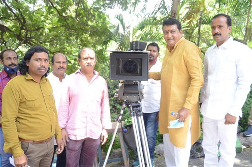 Venkata Narasimha Raj, Samudra, Prudhvi Raj, Lavanya Chandrasekhar @ Alludu Bangaram Movie Opening Stills