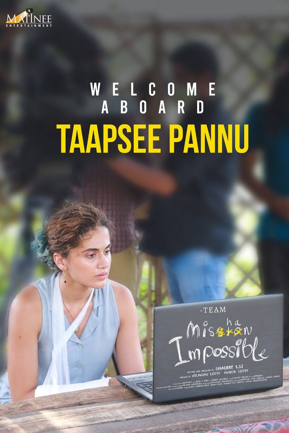 Welcme Taapsee Pannu in Mission lmpossible