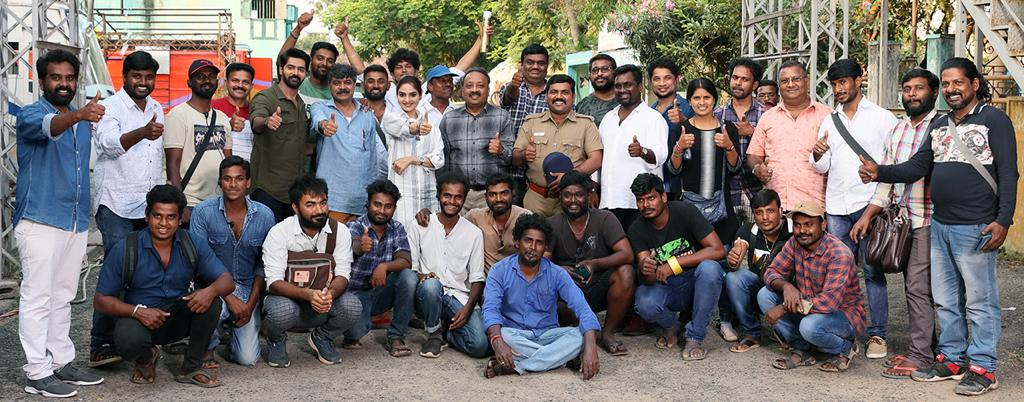 Actor Arulnidhi DEJAVU Movie Shooting Wrapped