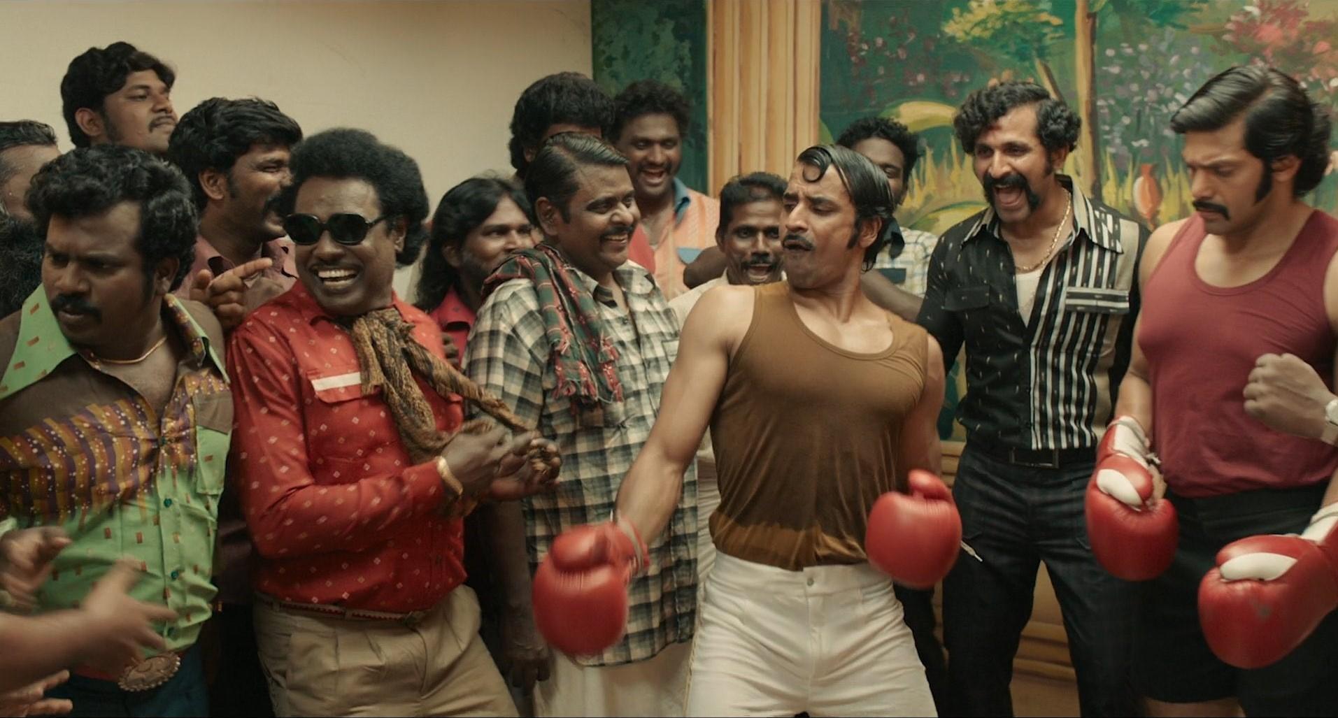 Actor Shabeer Kallarakkal Dancing Rose @ Sarpatta Parambarai Movie