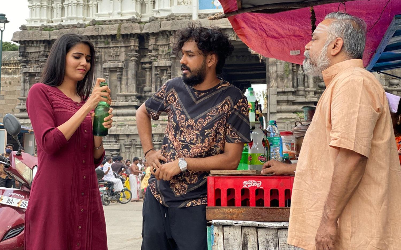 Madhuri & Hiphop Tamizha Aadhi @ Sivakumarin Sabatham Movie HD Pics