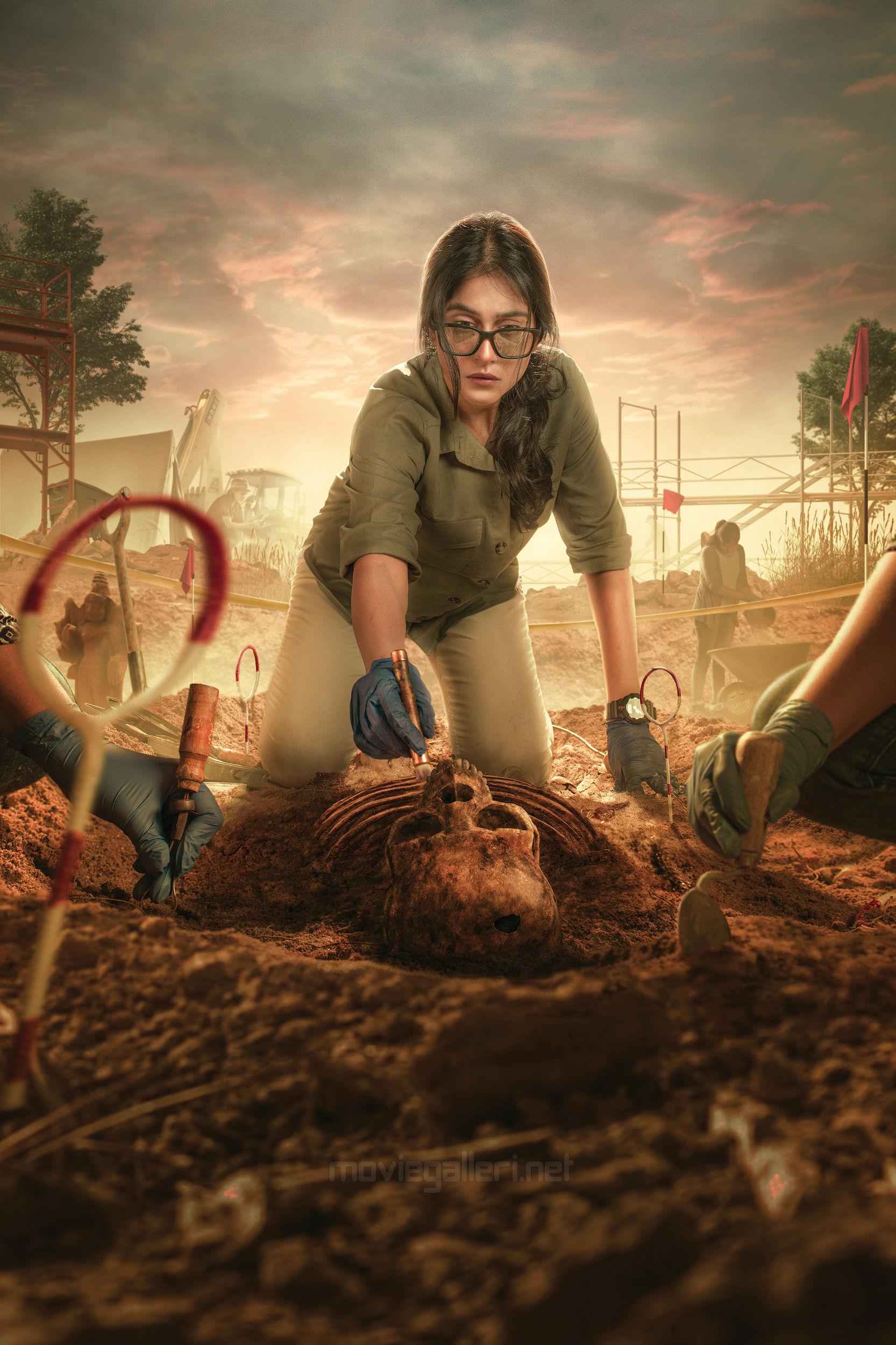 Actress Regina Cassandra Soorpanagai Movie wraps up shoot