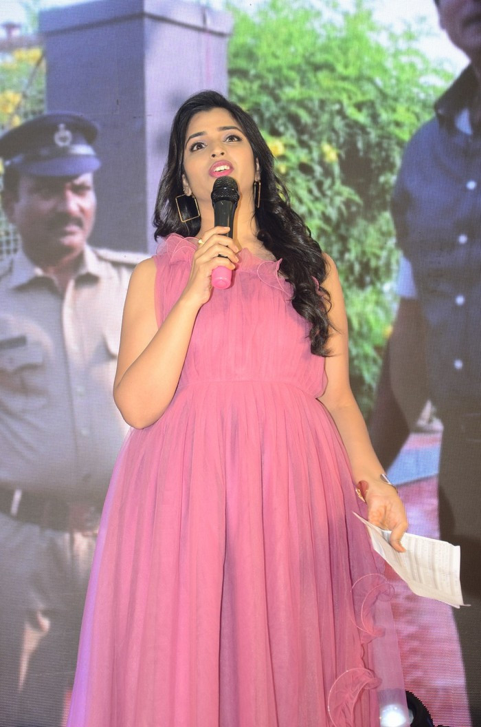 Anchor Shyamala New Pics at House Arrest Pre-Release Event