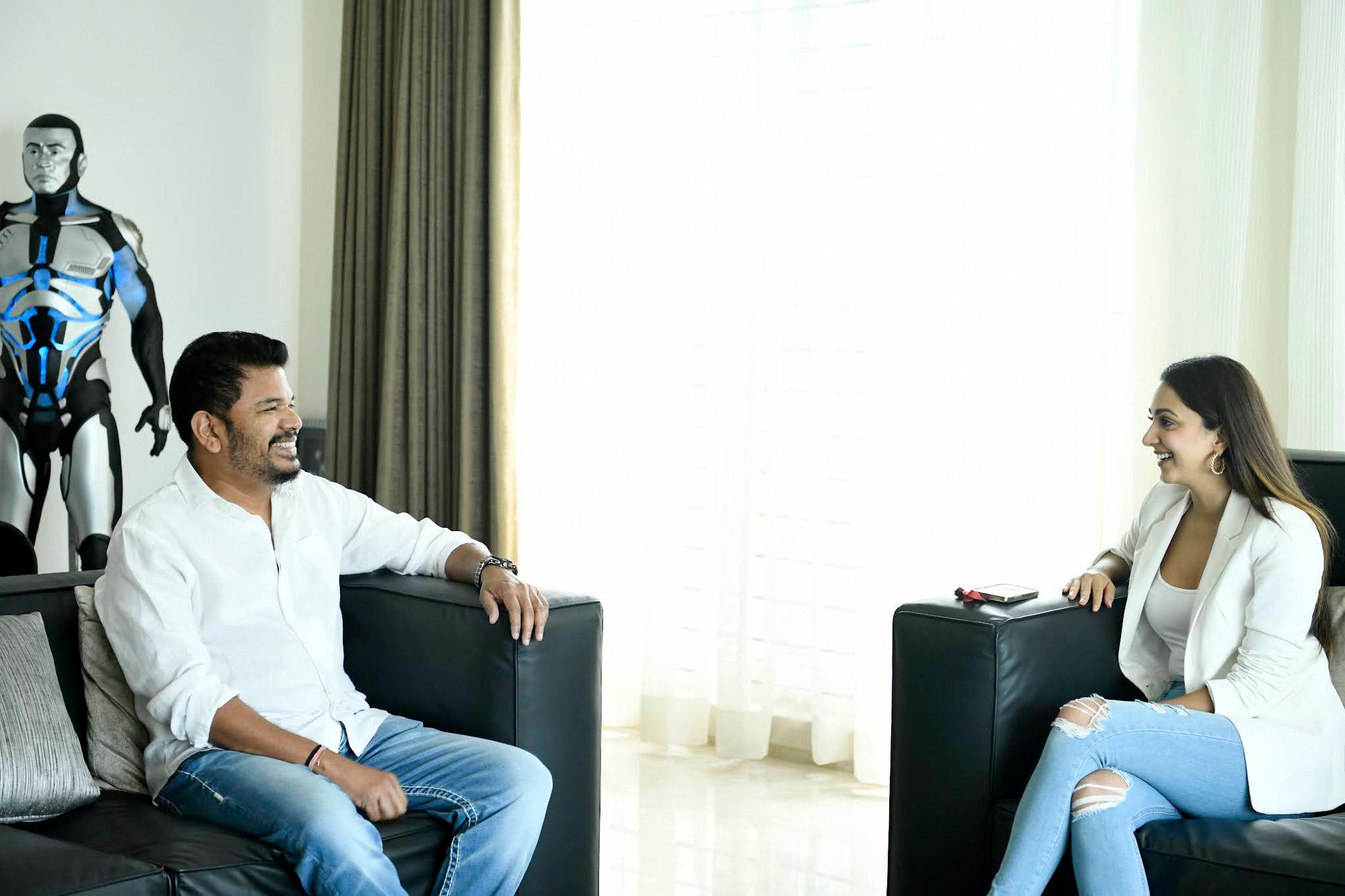 Kiara Advani joins the Director Shankar, Ram Charan Movie