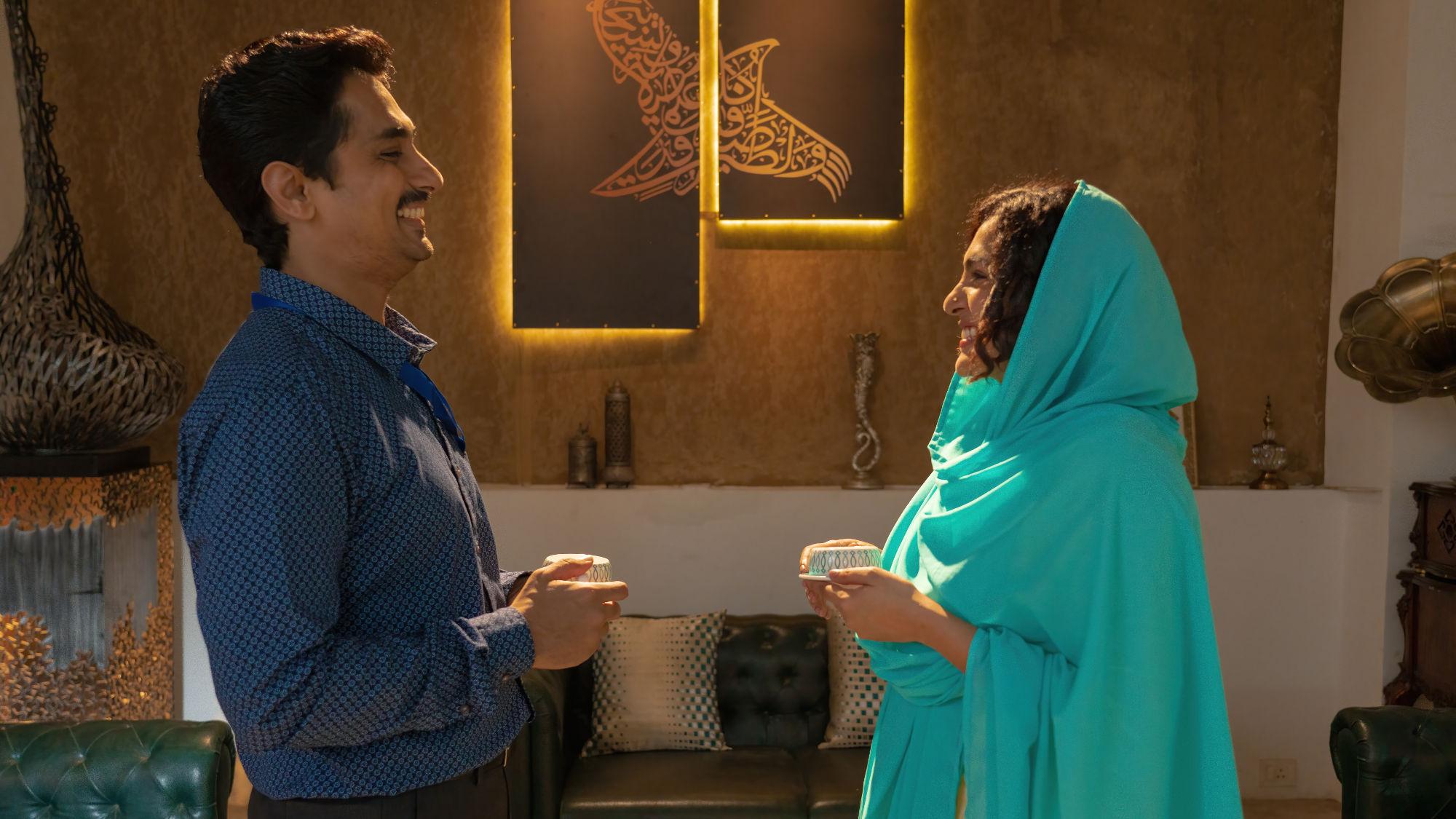 Siddharth Parwathy Navarasa Inmai Netflix Series