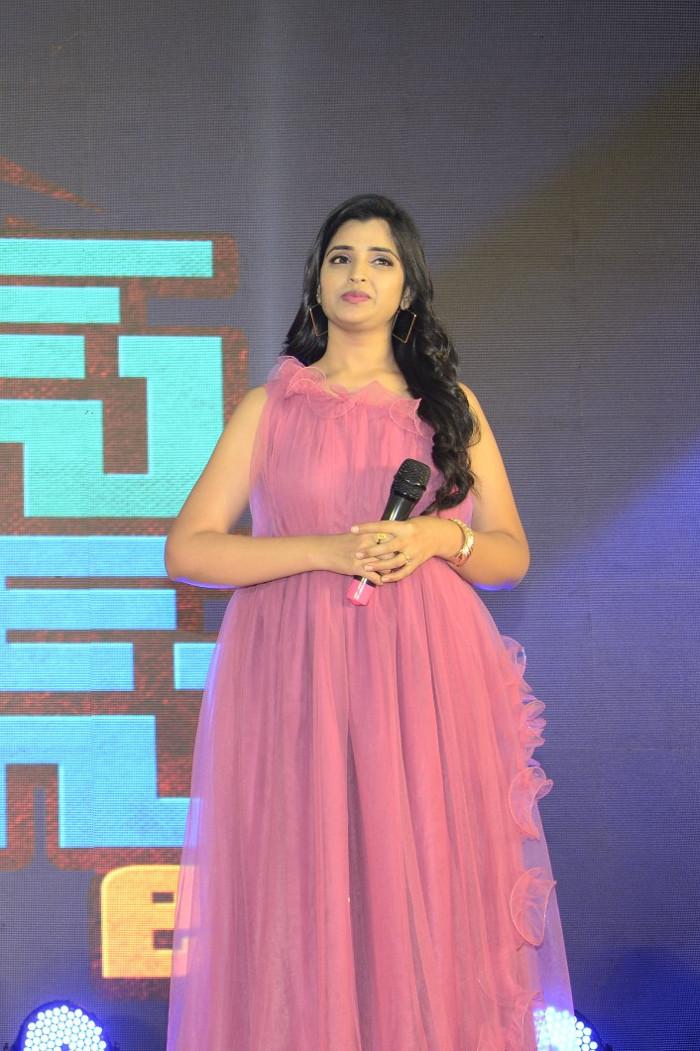 Telugu Anchor Shyamala Pics at House Arrest Pre-Release Event