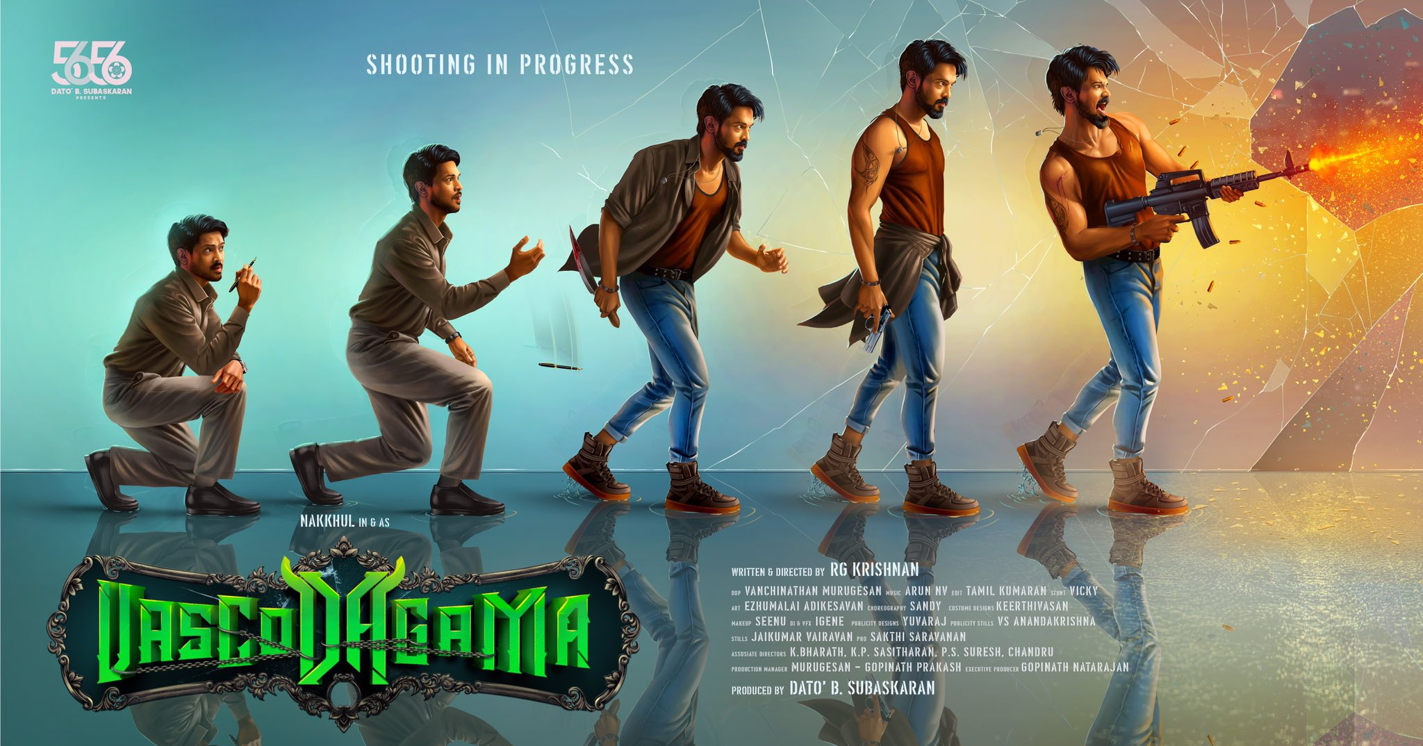 Actor Nakul Vascodagama movie first look poster HD