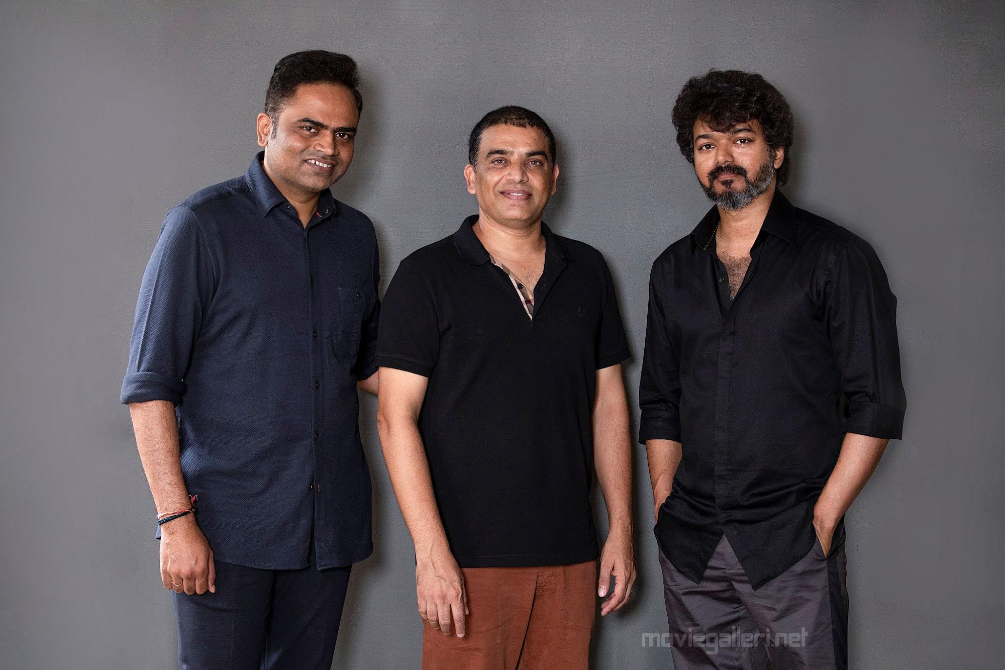 Director Vamshi Paidipally, Producer Dil Raju & Actor Vijay's 66th Movie