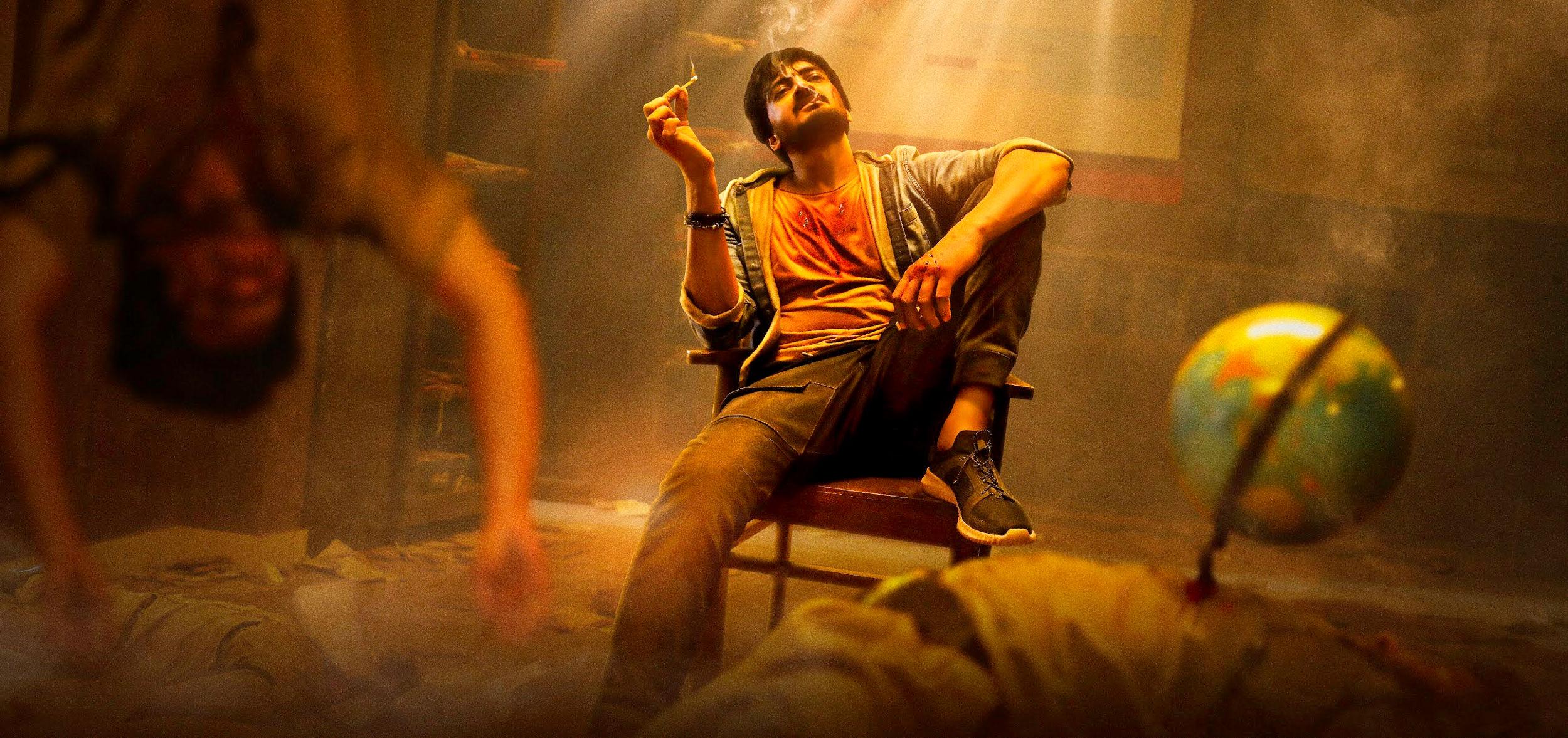 Hero Sai Raam Shankar Resound Movie First Look HD Picture