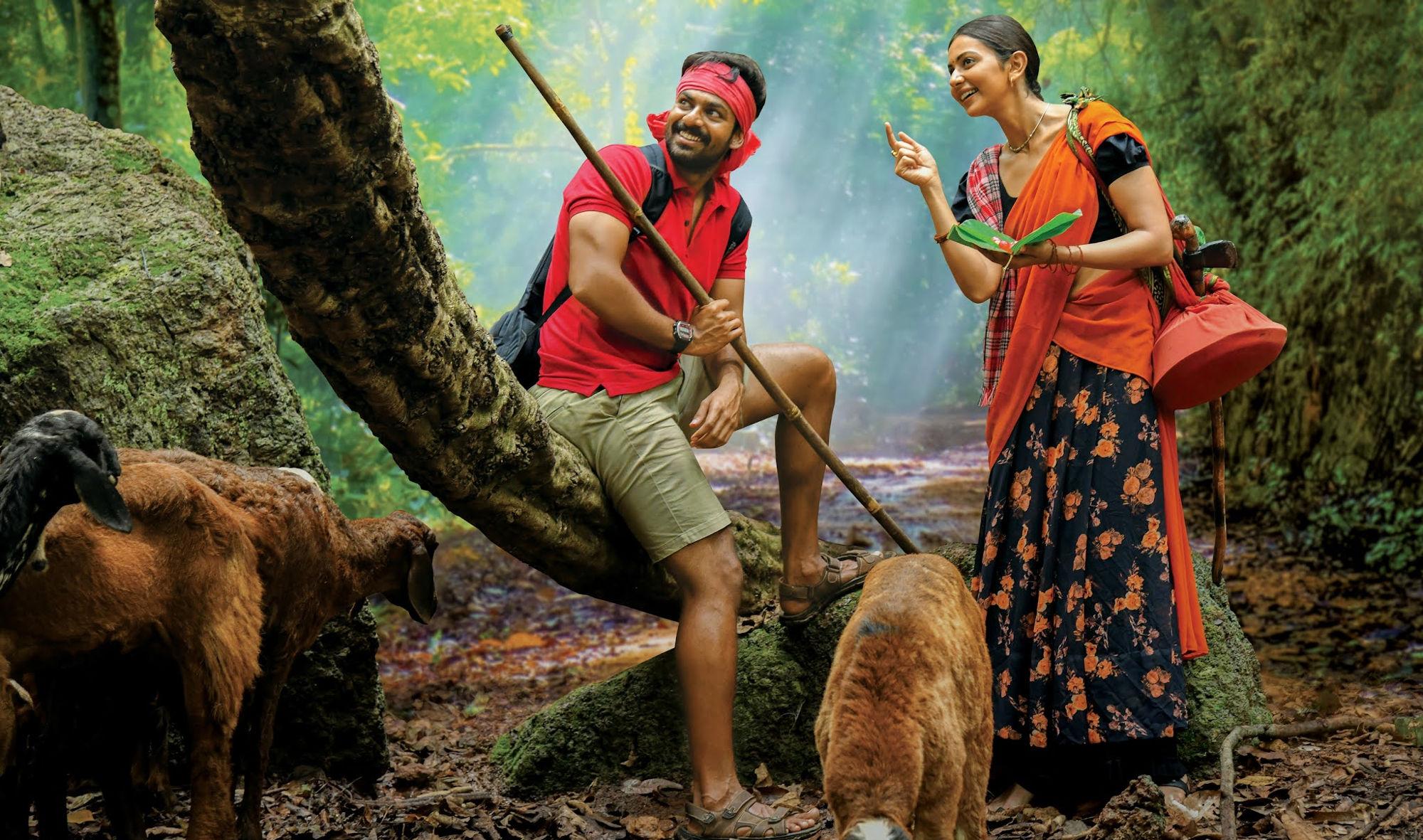Panja Vaisshnav Tej, Rakul Preet Singh, Konda Polam Movie Trailer Out