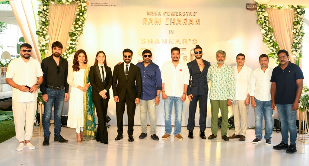 Ram Charan Shankar come together with Producers Dil Raju Sirish for Pan India Movie