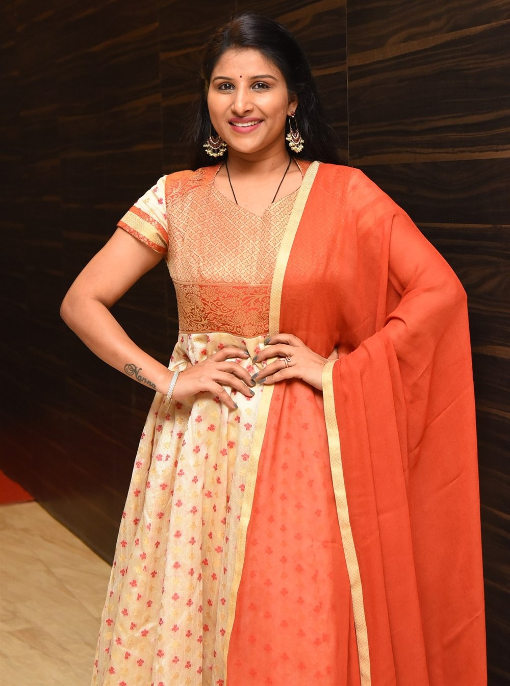 Singer Mangli Satyavathi Stills @ Gully Rowdy Pre Release